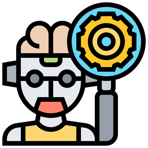 inteligencia artificial  icono gratis