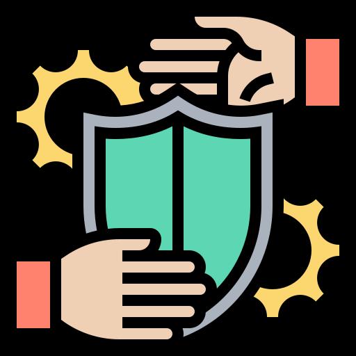 Security purposes  free icon
