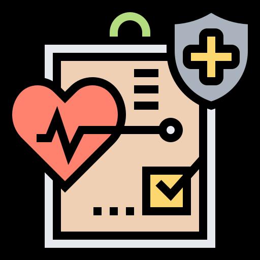 informe médico  icono gratis
