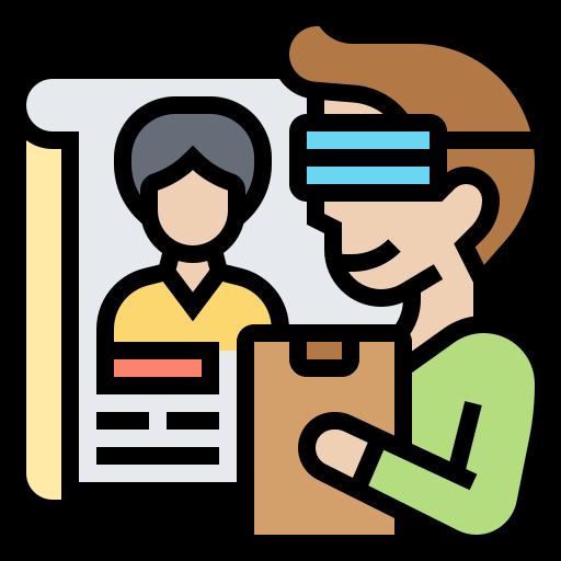 Virtual reality  free icon