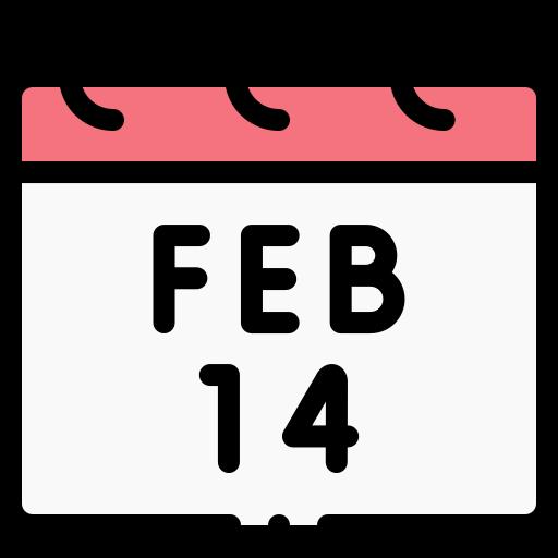 14 de febrero  icono gratis