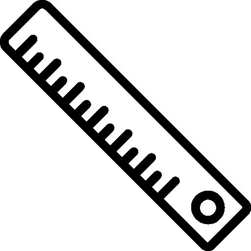 Ruler  free icon
