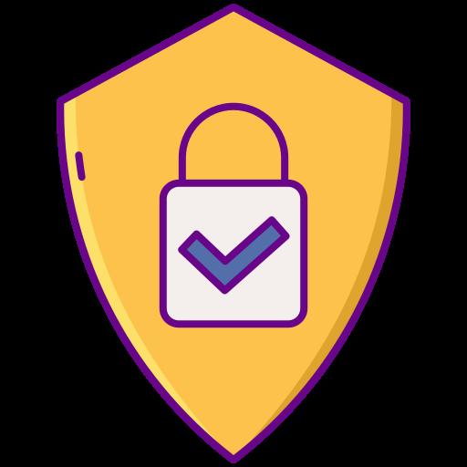개인 정보 정책  무료 아이콘