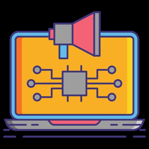 digitale werbung  kostenlos Icon