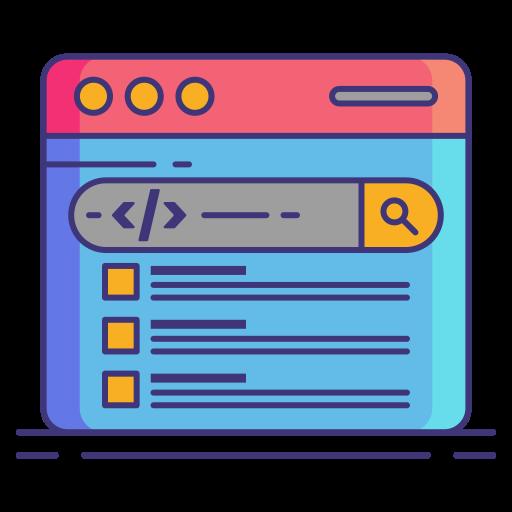 Markup  free icon