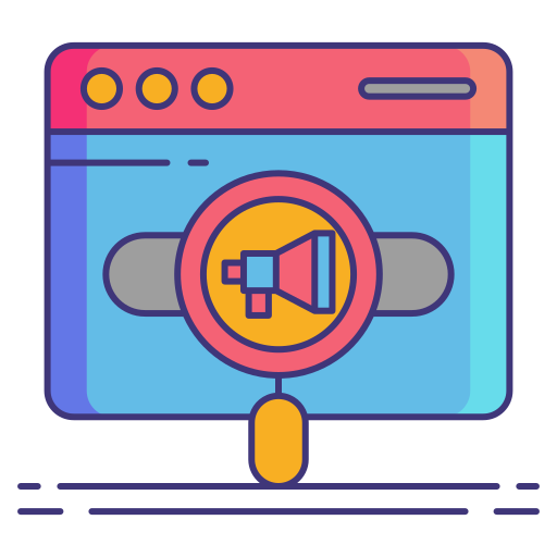 marketing sur les moteurs de recherche  Icône gratuit