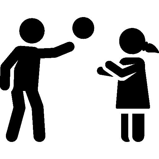 Playing  free icon