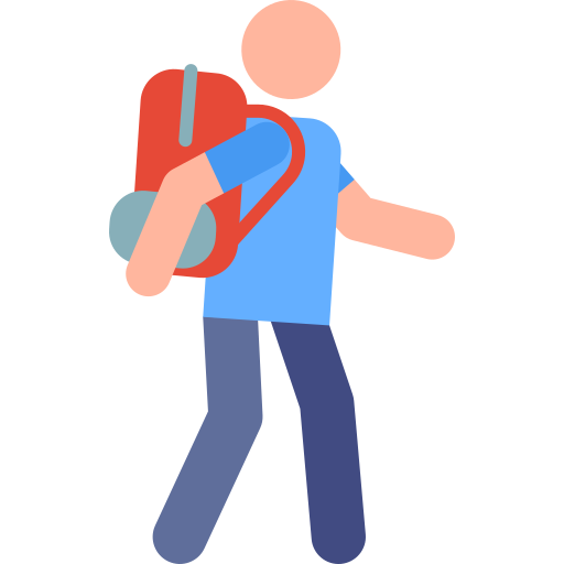 viajero  icono gratis