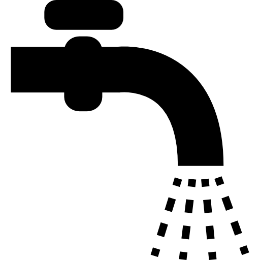 Water tap  free icon