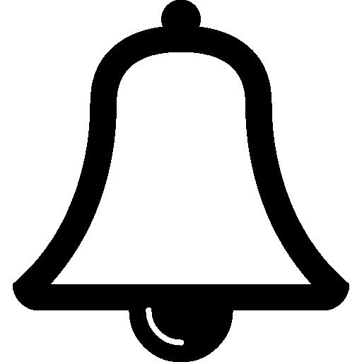 contour de cloche musicale  Icône gratuit