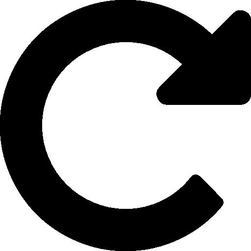 Refresh arrow  free icon