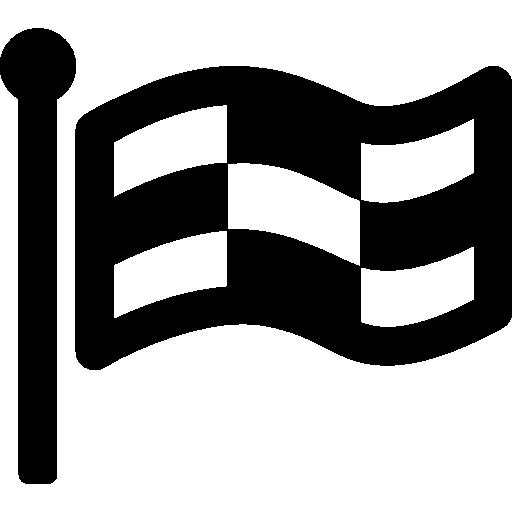 karierte flagge  kostenlos Icon