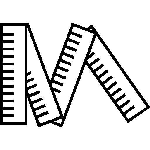 mètre  Icône gratuit