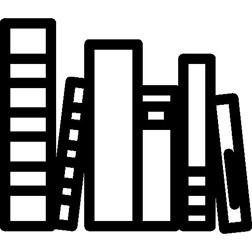 Books group  free icon