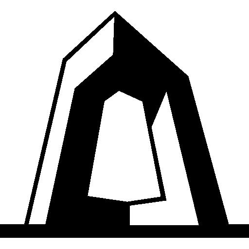 Штаб-квартира cctv в Китае  бесплатно иконка