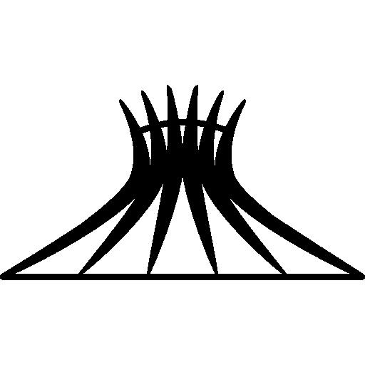 Собор Бразилиа, Бразилия  бесплатно иконка