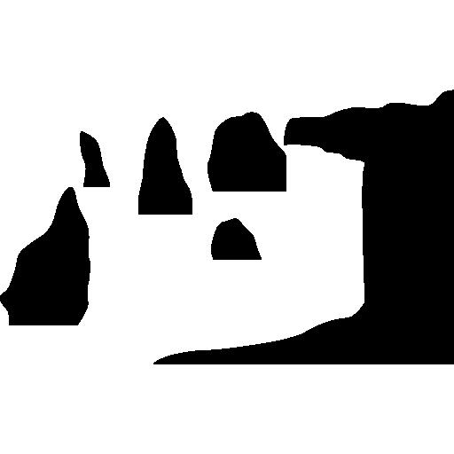 Двенадцать апостолов, Австралия скалы  бесплатно иконка