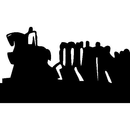 Памятник флагам, Сан-Паулу, Бразилия  бесплатно иконка