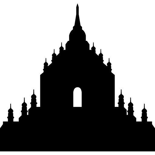 Храм Татбиинню, Мьянма, Бирмания  бесплатно иконка