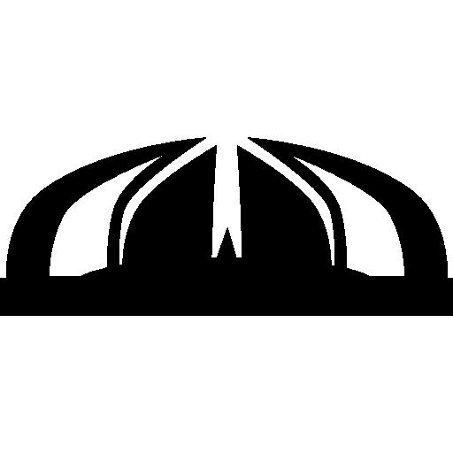 Памятник Пакистану  бесплатно иконка