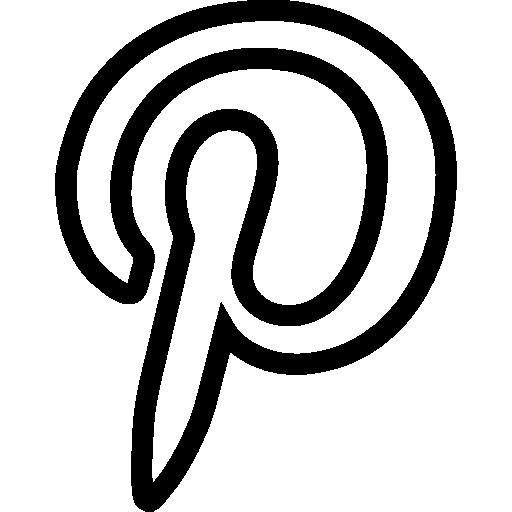 Pinterest  free icon