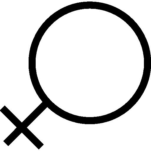 femelle  Icône gratuit