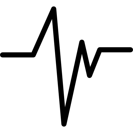 Heart beat  free icon