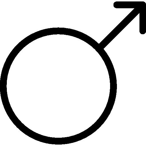 masculin  Icône gratuit