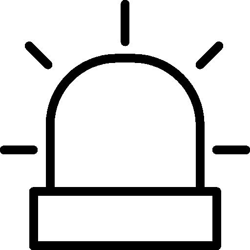sirène  Icône gratuit