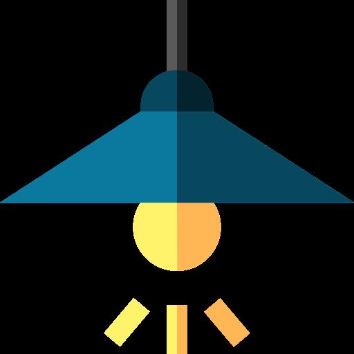 lámpara de techo icono gratis