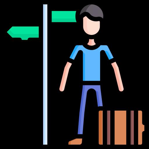 Traveller  free icon