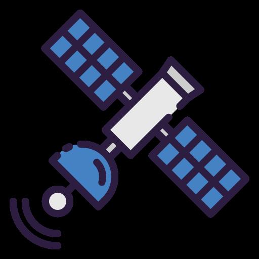 satélite  grátis ícone