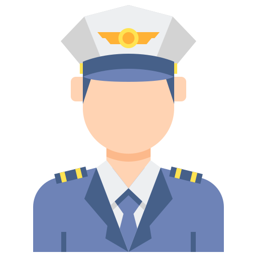 Captain  free icon