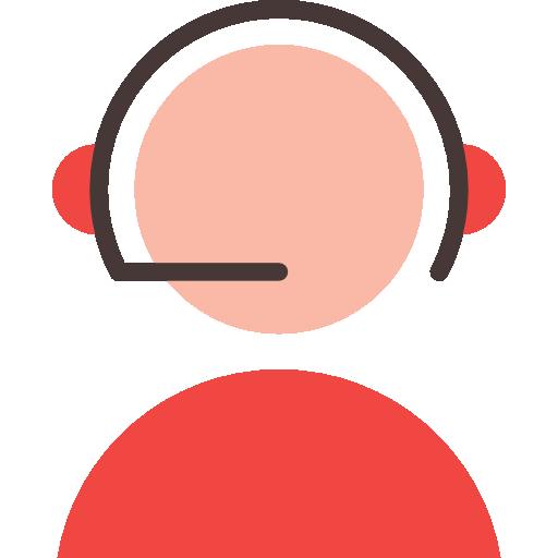 Male reporter  free icon
