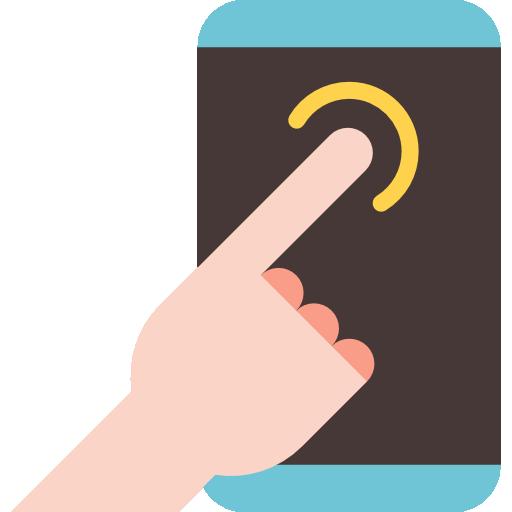 Hand gesture  free icon