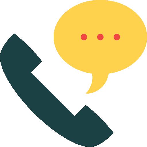 Phone receiver  free icon