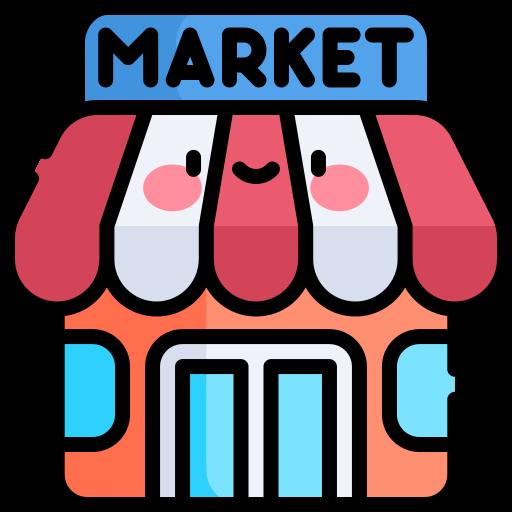 Supermarket  free icon
