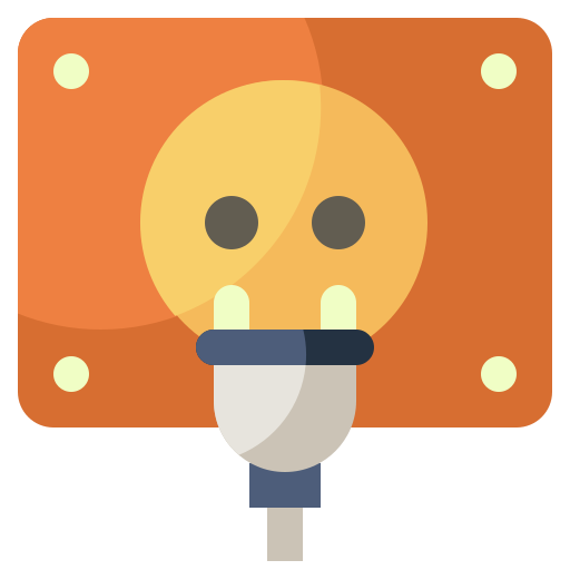 Electric socket  free icon