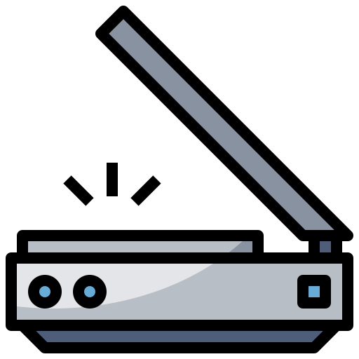 3d scanner  free icon