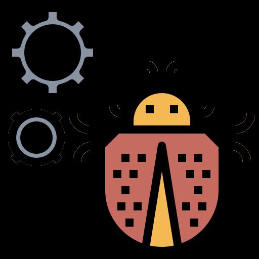 Bug problem  free icon