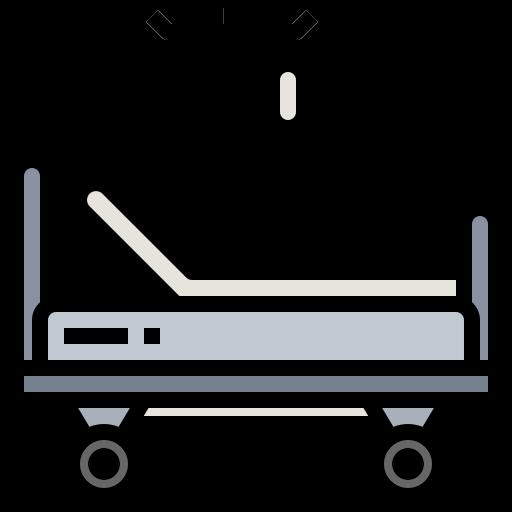 cama de hospital  icono gratis