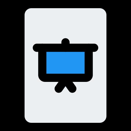présentation  Icône gratuit