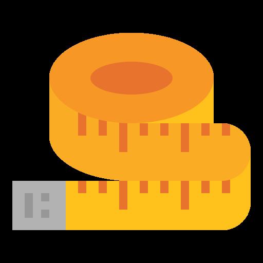 Measuring  free icon