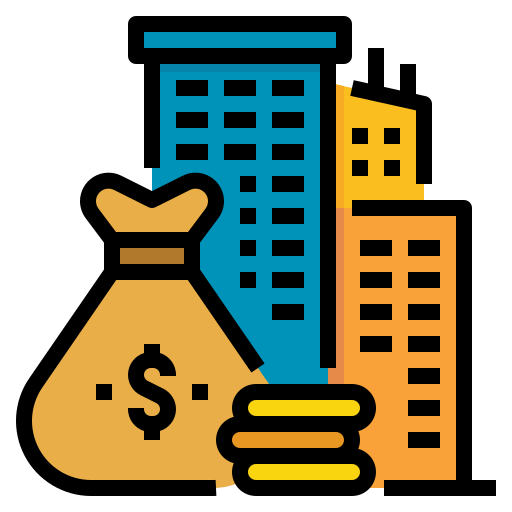 Capital venture  free icon