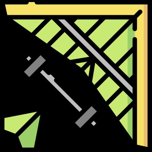 Hang gliding  free icon