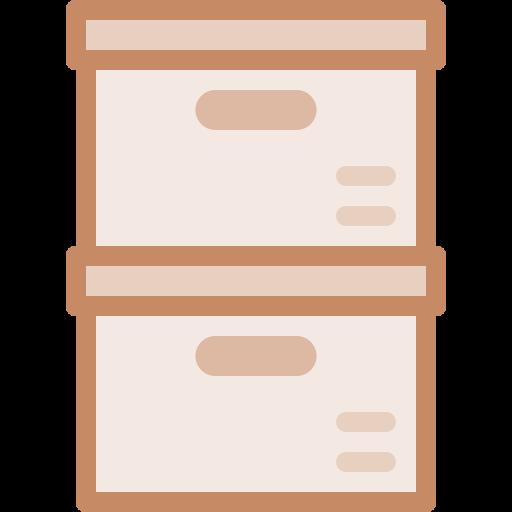 boîte de rangement  Icône gratuit
