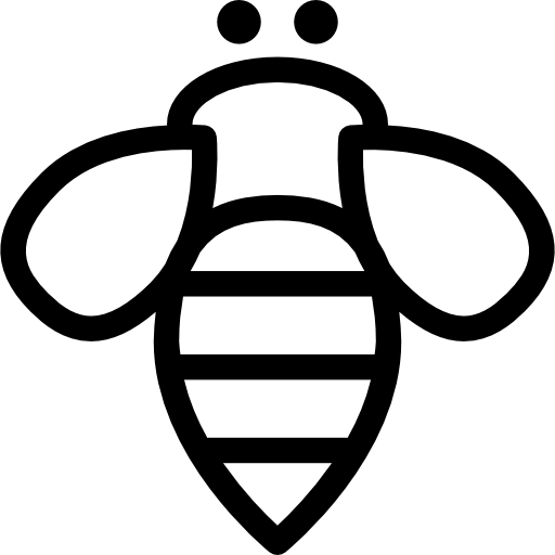 꿀벌 곤충 개요  무료 아이콘