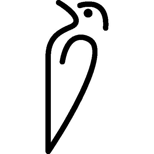 variante de contorno de pássaro  grátis ícone