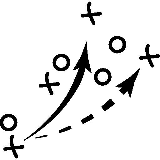 연습을위한 축구 스케치  무료 아이콘
