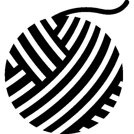 Thread ball  free icon